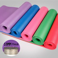 Wholesale Extra Long Exercise Fitness Non Slip Colors Yoga Mat Gym Meditation Pad