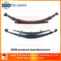Wholesale Truck Parts Crv4 Leaf Spring with U Clip Fastener