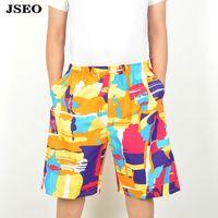 athletic shorts with pockets - JSEO Men Swim Truck with elastic waistband Pocket Short Quick Dry Boardshorts Sports Surf Beach Shorts Swimwear Solid Athletic Swim Short
