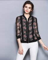 Wholesale women fashion cute blouses elegant stylish turndown collar long sleeve shirts ladies office work wear tops