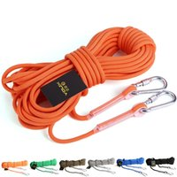 Wholesale 29xd5 Climbing Ropes Outdoor Safety Rope Lifesaving Cords Insurance Cord Field Survival Equipment Supplies Terylene Colorful Popular Fashion