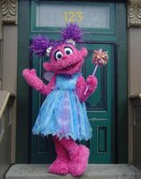 abby cadabby costumes - OISK Customized Sesame Street Abby cadabby Mascot Costumes For Kids Brithday Party Christmas Halloween Fancy Dress Outfits