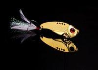 Рыболовная приманка для лезвия Lure Metal VIB Жесткая приманка Пресная вода Мелководье Bass Walleye Crappie Minnow 10g / pcs