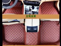 Wholesale Waterproof Leather XPE Car Floor Mats for BENZ W222 S500L CAR D Diamond shaped designed
