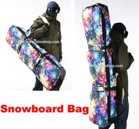 big mountain ski - Professional snowboard board handbag starry sky monoboard snow bag mountain skiing boots waterproof shoulder protective bag big