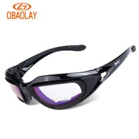 Wholesale Daisy C5 Polarized Army Goggles Military Sunglasses Lens Kit Men s Desert Storm War Game Tactical Glasses Sporting