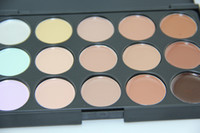 Wholesale 15 Colours Professional Facial Concealer Cream Foundation Makeup Camouflage Concealer Palette VS Kylie eyeshadow palette