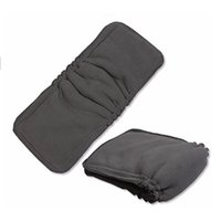 Wholesale 5 Layers Bamboo Charcoal Cotton cloth diapers Inserts Nappy changing mat Baby Diapers Reusable diaper changing pad