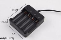 Wholesale high quality black v slots intelligent multi Lithium Ion Battery Charger