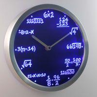 algebra mathematics - nc0461 Math Class Algebra Formula Mathematics Teacher gift Neon LED Wall Clock