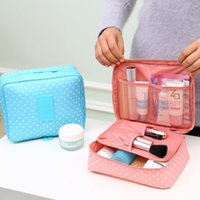 Wholesale Brand Large capacity Portable Toiletry Cosmetic Bag Waterproof Makeup Make Up Wash Organizer Storage Pouch Travel Kit Bag Hand