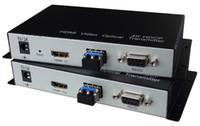 Transmetteur et récepteur fibre optique HDMI 4K 3840 * 2160 Convertisseur fibre optique UHD 3D LC