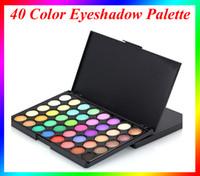 Wholesale 40 Color Eyeshadow Palette Naked Earth Colors Shimmer Glitter Earth Eye Shadow Power Set Cosmetic Makeup Tool Make VS Kylie eyeshadow