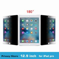 air china pets - 3M Quality inch PET material Degree Tablet PC Privacy Filter Screen Protector for iPad Air Aro mmx301mm
