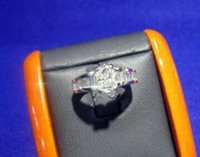 baguette engagement ring - Diamond Engagement ring cts Main stone Baguette cts Retail
