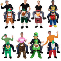 Wholesale Shoulder Carry Me Piggy Back Ride On Fancy Dress Adult Party Costume Mens Outfit Costume Party Dress Christmas Party Costume