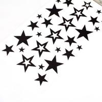 Tattoo Stencil best designed tattoos - Best Sale Cute Star Design Body Art Temporary Tattoo Sticker