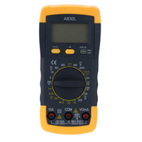 ammeters and voltmeters - A830L Mini Digital Multimeter DMM Voltmeter Ammeter Ohmmeter hFE Tester with Date Hold LCD Backlight Diode and Continuity Test E0461