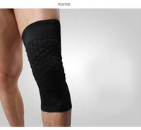 Wholesale Honeycomb Type Kneepad Ankle Support Protective Clothing Light Ventilation Mountaineering Protect knee Lengthen Type