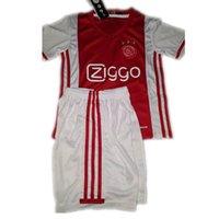athletic shorts boys - 16 Ajax away black red kids soccer uniforms thai quality designer football jerseys short sleeve soccer kits men s athletic sportswear set