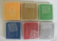 Wholesale via DHL EMS Catridge Case English language gameboy cartridges Cases for GBC poke green yellow red silver gold Blue Crystal