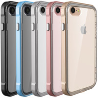 best green iphone case - For IPhone Hybrid Clear Back Shockproof TPU Case Cover For Apple IPhone Plus OPP Bag Best in stock DHL Free