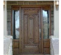 Wholesale Customized size Interior Door Solid wood Wooden Door Building Door Houzz