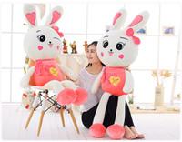 baby monkey stuff - 32 quot CM Cute Rabbit Plush toys U pick for Baby Girl Super Quality plush Dolls Stuffed Toys Plush Animals