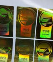Wholesale Holographic sticker hologram sticker laser sticker