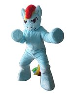 athletics photo - actual picture photo blue my little pony horse halloween Rainbow Dash mascot costumes character party costume adult size LLFA