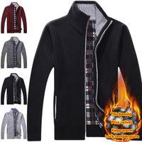 american factory direct - Factory Direct Sale Brand Fashion Mens Cashmere Sweater Men s Zipper Men Cardigan Long Sleeve Warm Sweaters Jacket Coats For Man
