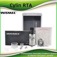 auto drip - Authentic Wismec Cylin RTA Original Rebuidable Tank Atomizer with ml e Juice Capacity with an Auto Dripping System genuine