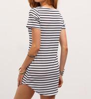 Black White Striped Sundress UK | Free UK Delivery on Black White ...