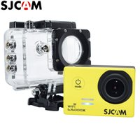 Wholesale SJCAM SJ5000X K WiFi Elite Edition Action Video Camera Gyro Waterproof m Diving Outdoor Sking Sport Camcorder Full HD Mini Helmet DV
