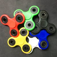 Black big finder - China factory Most inexpensive fidget hand spinner TRIANGLE anxiety finder toys EDC Tri spinner