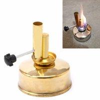 alcohol torch - Brass Alcohol Lamp Blow Torch Alcohol Blast Burner ml Lab Equipment Heating