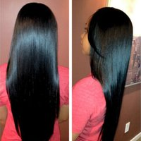 Peruvian Indian Malaysian Mongolian Cambodian Brasileña Virgen Straight Hair Weave Bundles Remy barato Extensiones de cabello humano Natural Color 1B