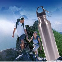 Wholesale New water Bottles Stainless Steel Vacuum Flask Cups Swell Sports Mug ml Hot Cool Drinking A0626