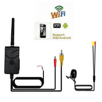Wholesale Car W Ghz Wifi Transmitter with Car Rearview Backup Camera Monitor AV Interface Worldwide sale