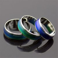 Cluster Rings best mood ring - Creative Color Changeable Ring Temperature Emotion Feeling Mood Rings for Women Men Jewelry Best Gifts Fashion Jewelry