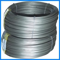 Wholesale High Quality SAE1008 Miled Steel Black Iron Steel High Tensile Strength Galvanized Iron Binding Wire Plain Steel for Construction