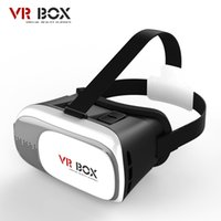 Wholesale Virtual D VR Glasses Plastic Google Cardboard D VR BOX Adjustable D VR Glasses Headset For cell phonewith Gamepad