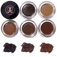Wholesale 2017 New Eyebrow Pomade Eyebrow Medium Brown Enhancers Colors Makeup Eyebrow With Retail Package Honlzen