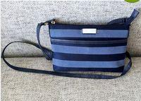 al por mayor la lona de la cremallera-El cuerpo cruzado portable de la cremallera de la lona de la luz de la buena calidad de las mujeres envío-nuevo libre del estilo empaqueta / el bolso del mensajero /