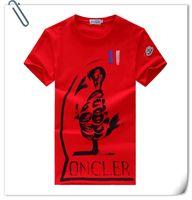 Wholesale MON T Shirt Men Casual t shirt Men s Short Sleeve tshirt homme camiseta jersey Tee Tops Brand Clothing