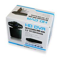 Wholesale Car DVR Recorder Camera HD Camcorder IR LED Night Vision H198 quot LCD Degree Rotation