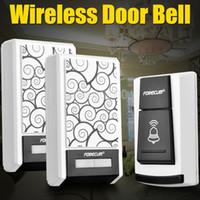Wholesale 36 Chimes Songs Waterproof Wireless Doorbell Remote Control Receiver Door bell