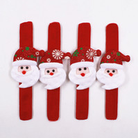 Wholesale Christmas clap clasp Cartoon pat ring Christmas atmosphere jewelry exquisite gift festivals F4