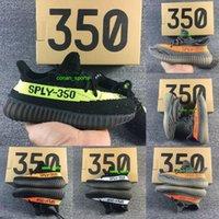 Wholesale Baby Kids Athletic Shoes Boys Girls Comfort Running Shoes Kanye West Season SPLY Boost V2 Black White Gray Orange Boost