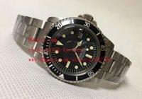 Montre de luxe de haute qualité Classic Series 40mm Vintage 116610 Black Dial Asia 2813 Mouvement mécanique automatique Montres de montre pour hommes